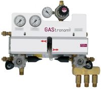 AUTOMATIC CHANGE-OVER UNIT WITH MANUAL RESET
