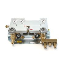 MANIFOLD WITH AUTOMATIC CHANGE-OVER UNIT – T3I